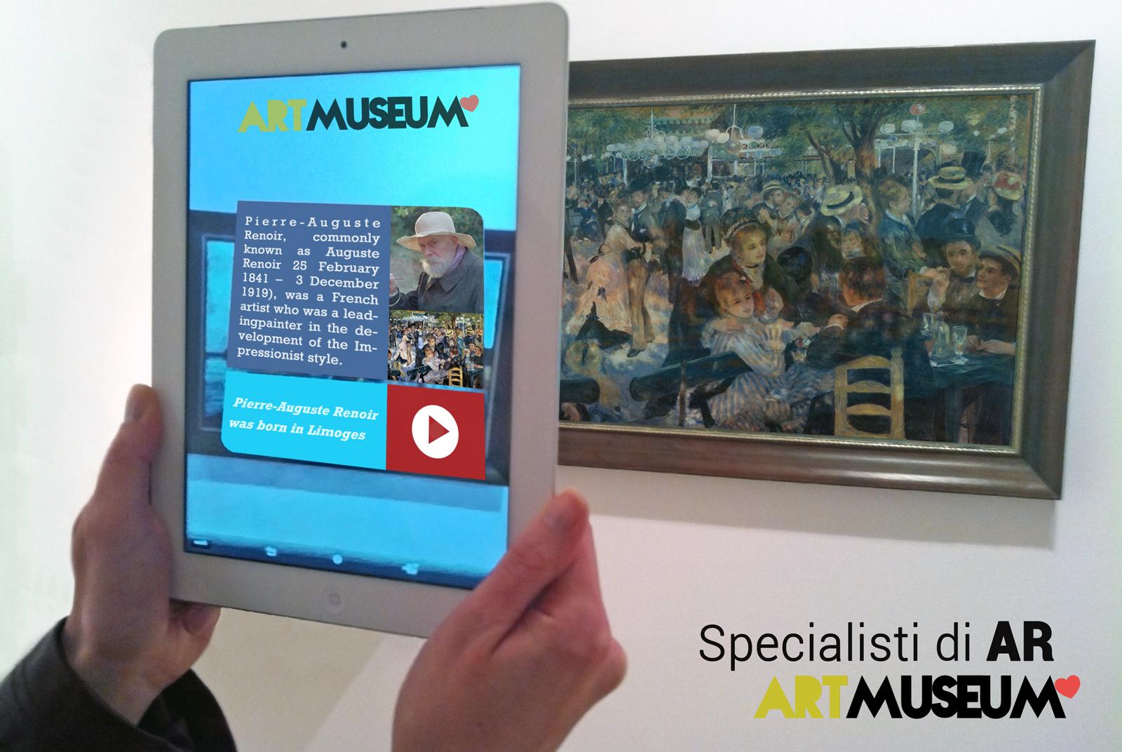 Realtà aumentata nel museo